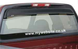 CAR WEBSITE ADVERTISEMENT WINDOW STICKERS VINYL SIGNS X 5