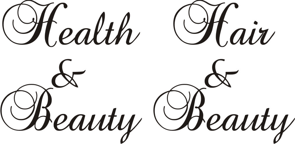 HEALTH & BEAUTY TEXT