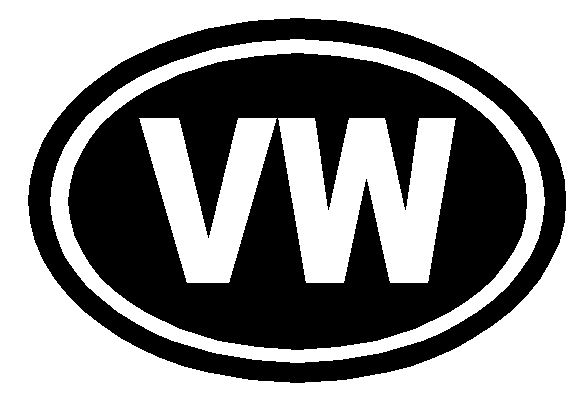 VW Country Style Badge Sticker