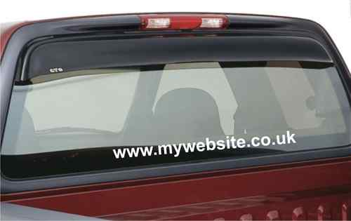 CAR WEBSITE ADVERTISEMENT WINDOW STICKERS VINYL SIGNS X5