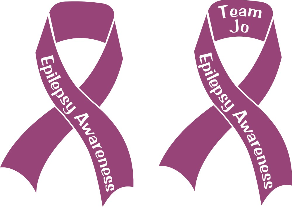 Team Jo Awareness Ribbons