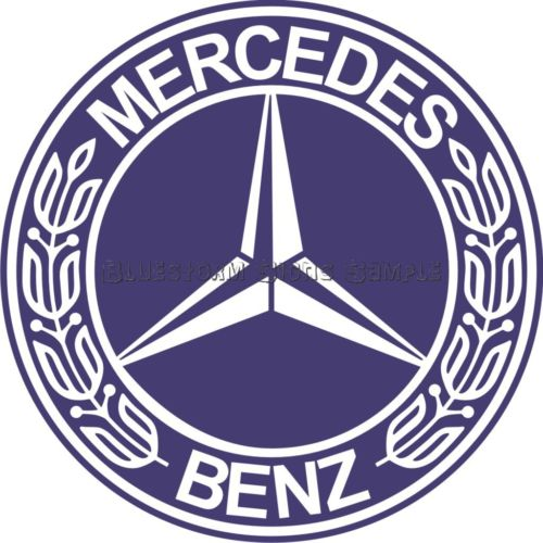 Mercedes Benz Car Logo Sticker