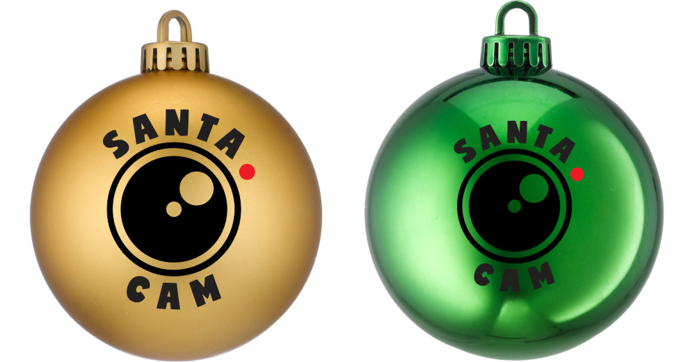 Santa Cam vinyl stickers only X4