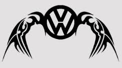 VW Wings Sticker