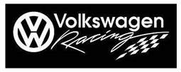 VW Racing Sticker